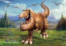 The good dinosaur T Rex fotobehang Kleurmijninterieur kinderkamer jongens
