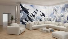 Corner bombers papier murales Kleurmijninterieur tout images