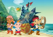 Jake and the neverland pirates fotomurali Kleurmijninterieur sport