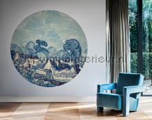 Landscape with Houses fotomurales 300332 Circles BN Wallcoverings