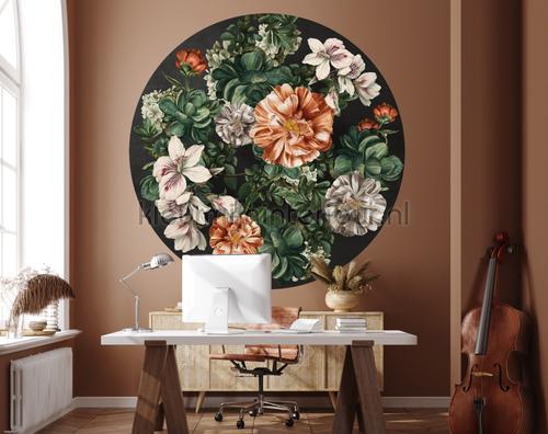 Indoor Flowers fotomurales 300339 Circles BN Wallcoverings