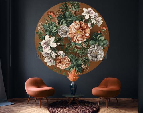 Indoor Flowers fotomurales 300340 Circles BN Wallcoverings