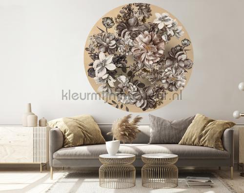 Indoor Flowers fotomurales 300342 Circles BN Wallcoverings
