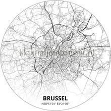 Brussel papier murales Noordwand tout images