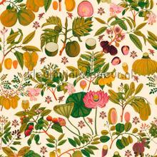 Asian fruits and flowers fotobehang Mindthegap keuken dessins
