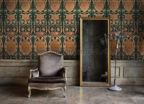 Fontainebleau anthracite papier murales WP20372 classique Mindthegap