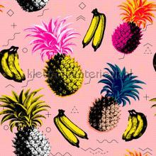 Flying objects pink fotobehang Mindthegap keuken dessins