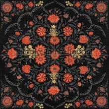 Hindu bloom anthracite papier murales Mindthegap Collectables 2019 WP20407