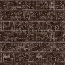 Bushoong kuba papier murales Mindthegap Compendium WP20411