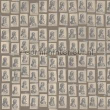 Emperors taupe papier murales Mindthegap Compendium WP20416