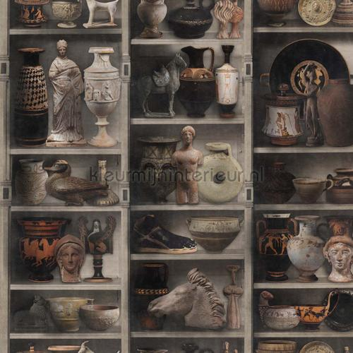 Greek pottery papier murales WP20417 classique Mindthegap