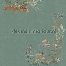 Chinoserie blue papier murales Mindthegap Compendium WP20437