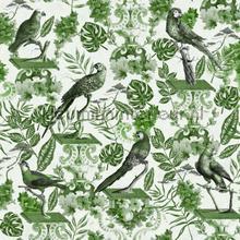 La voliere green papier murales Mindthegap PiP studio wallpaper