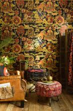 Tibetan tapestry metallic edition papier murales Mindthegap PiP studio wallpaper