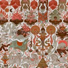 Yama dharmaraja light papier murales Mindthegap PiP studio wallpaper