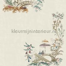 Chinoserie coconut papier murales Mindthegap Compendium WP20464