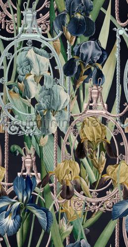 Fleurs d-iris papier murales WP20477 classique Mindthegap