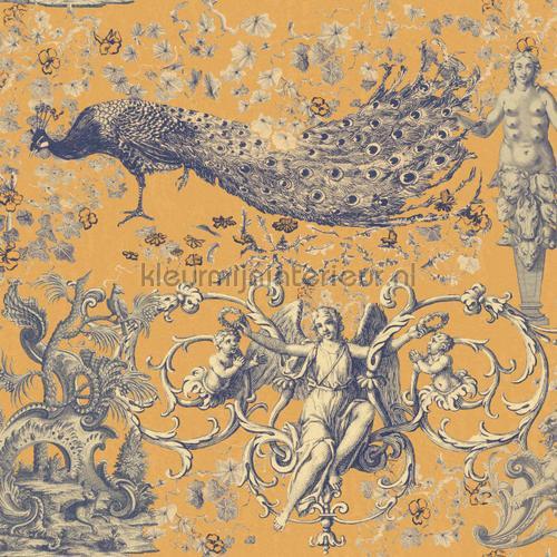 The promise land flax papier murales WP20485 classique Mindthegap