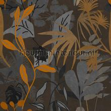 Caribbean garden dark fotomurales Mindthegap PiP studio wallpaper