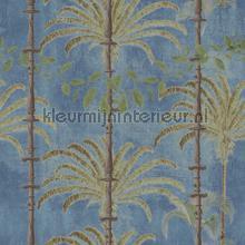 Havana regatta blue papier murales Mindthegap Compendium WP20490