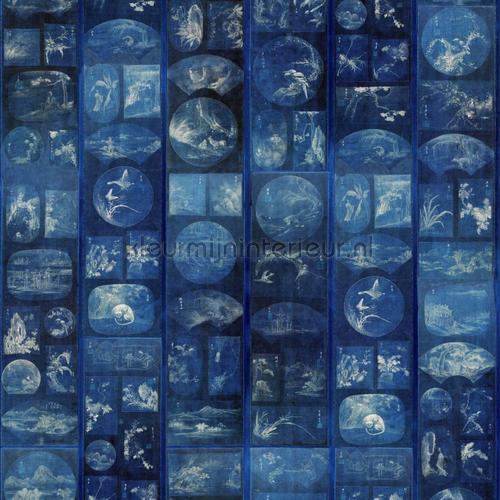 Aizome collage papier murales WP20506 Moderne - Résumé Mindthegap