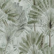 Traveller-s palm neutral papier murales Mindthegap PiP studio wallpaper