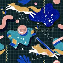 Modern foxy papier murales Mindthegap PiP studio wallpaper