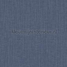Plain metallic blue papel pintado Hookedonwalls rayas