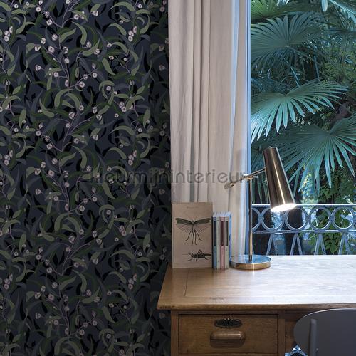 Leaf Allover behang DA23273 bladmotief Hookedonwalls