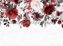 Flower mural II fotobehang AS Creation Bloemen Planten