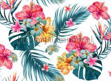 Tropical art I fotobehang AS Creation Bloemen Planten