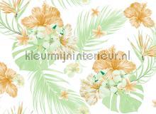Tropical art II fotobehang AS Creation Bloemen Planten