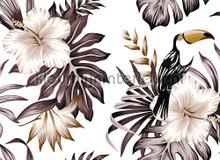 Toucan II fotobehang AS Creation Bloemen Planten