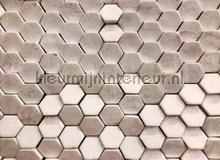 Hexagon surface 2 fotobehang AS Creation Grafisch Abstract