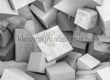 Concrete blocks 1 papier murales AS Creation structures