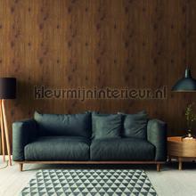 Rustig hout warmbruin behang AS Creation Elements 300431