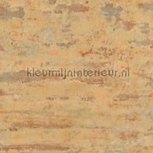 Slechtgeschilderde muur terra oranje tapeten AS Creation uni farben