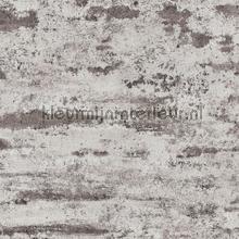 Slechtgeschilderde muur grijs behang AS Creation Stenen
