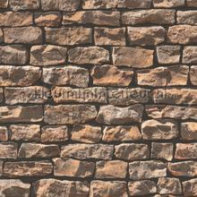 Stenen muur rustiek behang AS Creation Stenen