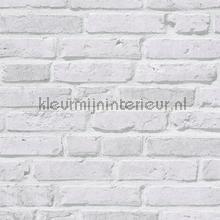 Bakstenen muur licht behang AS Creation Stenen
