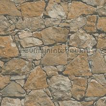 Gestapelde stenen muur behang AS Creation Stenen