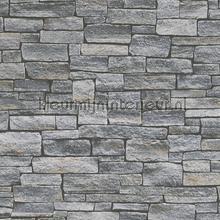 Gestapelde stenen behang AS Creation Stenen