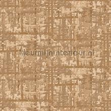 Fabric abstract gold behang Dutch Wallcoverings Embellish DE120094