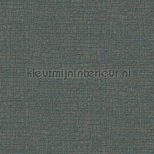 Fabric texture dark blue behang Dutch Wallcoverings Embellish DE120106