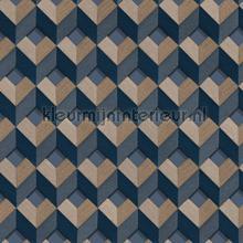 Cube design behang Dutch Wallcoverings Embellish DE120134