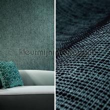 Boucle deep teal behang Arte Zoffany