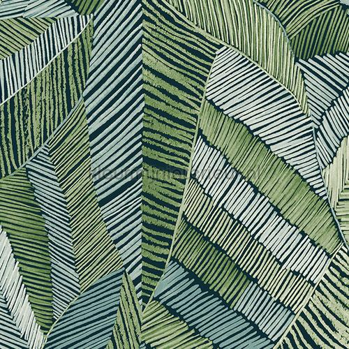 Chintz forest behang 73103 bladmotief Arte