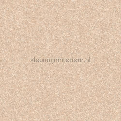Velvet beige wallcovering FT221234 plain colors Dutch Wallcoverings