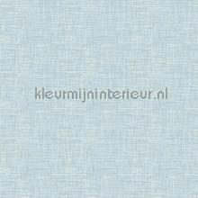 Weave light blue wallcovering FT221243 plain colors Dutch Wallcoverings