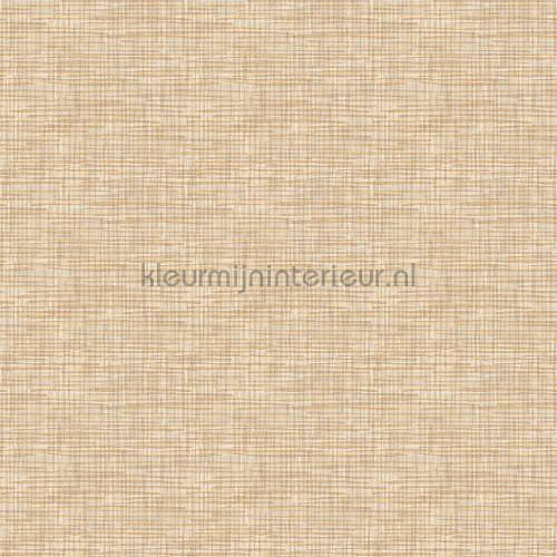 Weave beige wallcovering FT221245 plain colors Dutch Wallcoverings